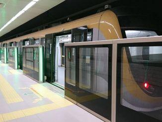 uskudar cekmekoy metrolijn 179 bin 612 passagiersrijtuig