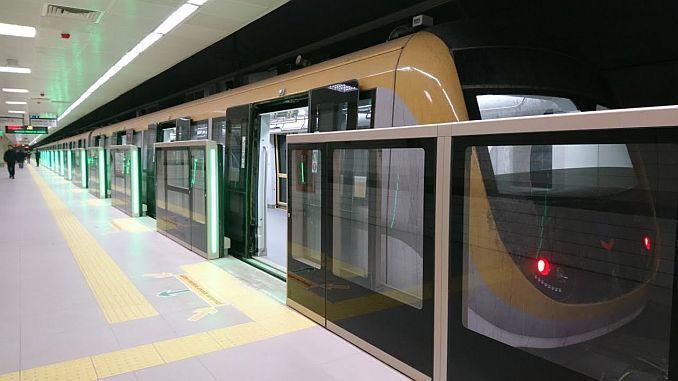 uskudar cekmekoy metro hatti ilk gunde 179 bin 612 yolcu tasidi