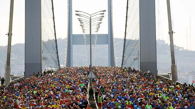 40inci istanbul maratonu nedeniyle bazi yollar trafige kapatilacak