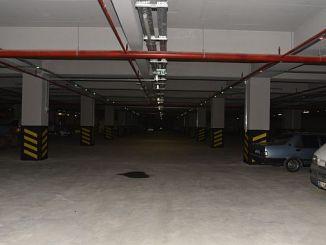 500 vehicle underground car park