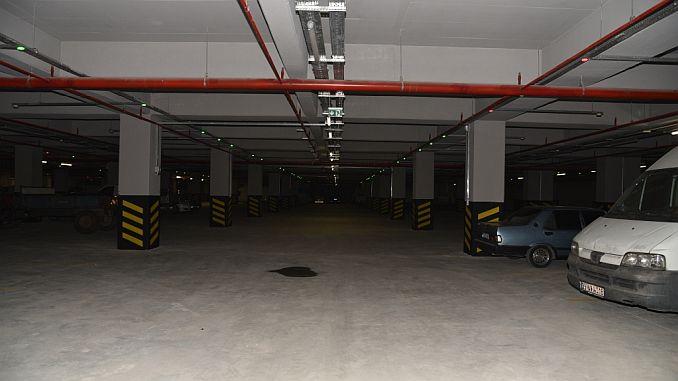 500 araclik yeralti otoparki salihlinin hizmetinde