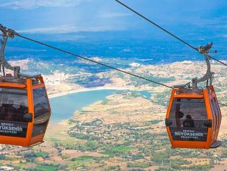 ab delegation admired the cable car and the bagbasi plateau
