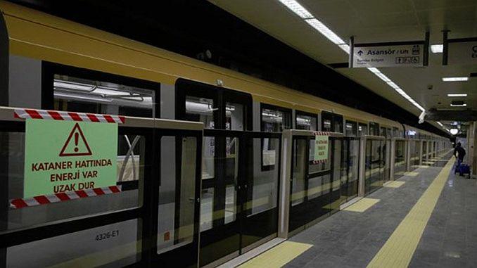 anadolu yakasinin ikinci metro hatti cekmekoyde