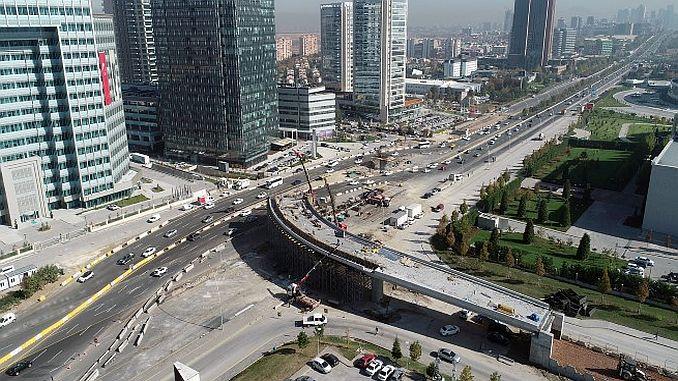 ankaranin new road and interlocking work continues full throttle