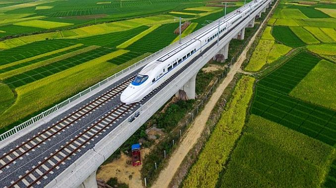 to be interconnected by 60 national railway in Europe and Asia