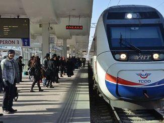 Пътниците на Turhan железопътни до 183 милиона