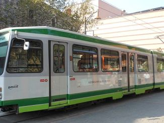 bursa nostalgični tramvaj
