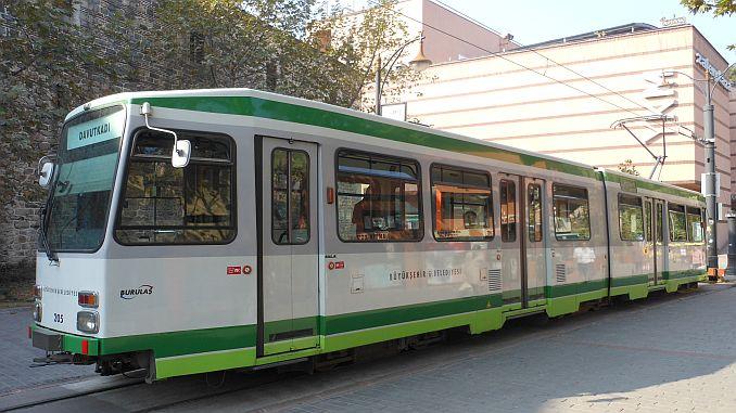 bursa nostaljik tramvayin yildirim etabi iptal