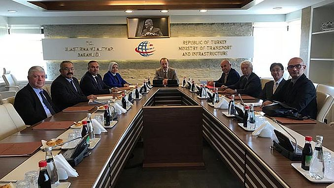 Duzce Committee went to the Ministry for YHT