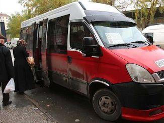 Isbedelada Eskisehir de minibus