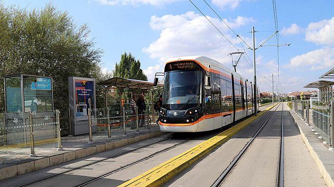eskisehirde yeni tramvay hatti calismalari durdu mu