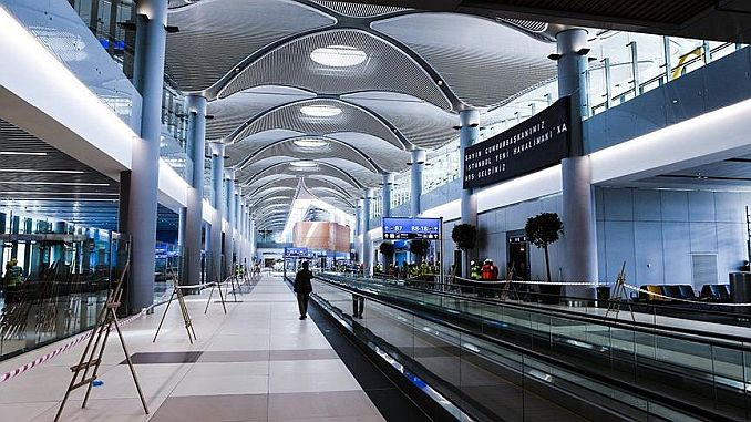 Istanbul airport announced the company concordat