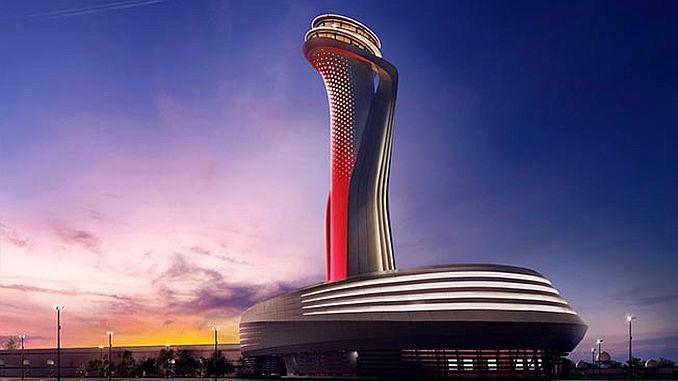 Dirección del destino del aeropuerto de Estambul