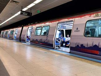 El tiempo de los vuelos del metro en Estambul se extendió debido a besiktas genk maci