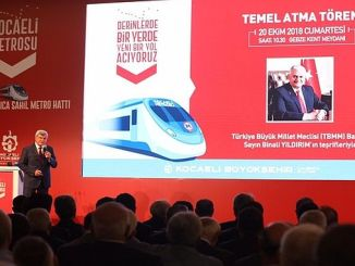 The largest project in the history of Kocaeli Gebze Darica Metro was introduced