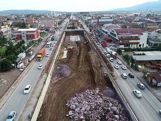 kosekoy kavsaginda tunel kazilari bitmek uzere