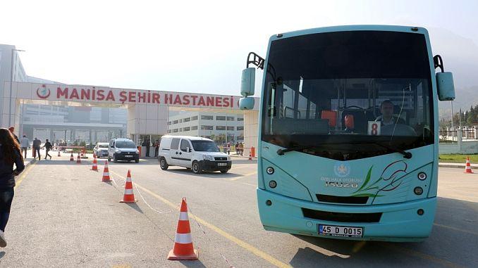 smooth transportation to manisa city hospital