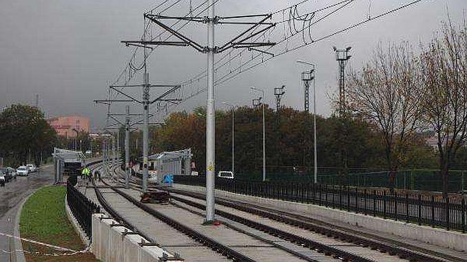 samsun light rail line reached omu campus 1