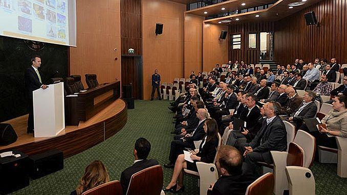 defense industry giant aselsan bursali met industrialists