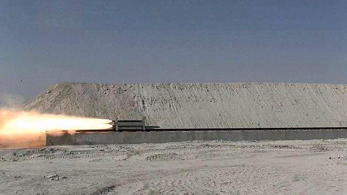 turkiyenin ilk ve tek supersonik rayli test hatti acildi