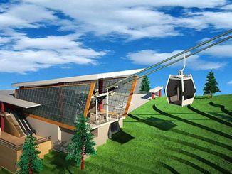 akcaabat ropeway-projektet är ett komplett företag