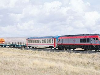 باكو-تبليسي-كارس عربات السكك الحديدية تركيا وأذربيجان شركاء لإنتاج 1