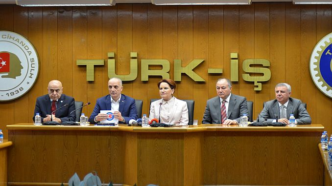 Baskan Aksener has been arrested about 3 TCDD Calisani
