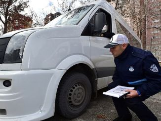 tight control of service vehicles in the capital