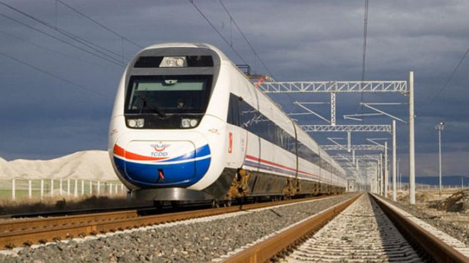 bursa deputy ahmet kilic tcddye speed train for 1