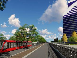 bursa t2il on võimalus trammist edasi minna
