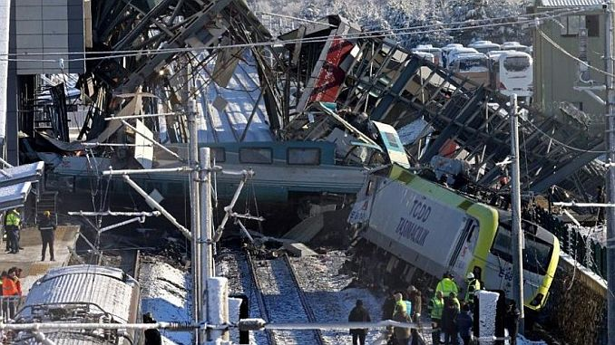Investigation of the train accident