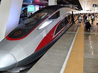 الجن يشرع في إنتاج أسرع قطارات العالم