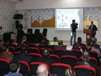 elazig municipality staff was given a traffic rules seminar