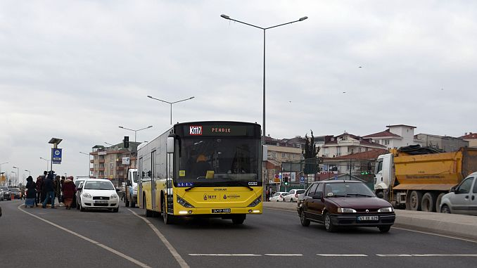 iett pendik in the city with the initiative of the new lines were opened