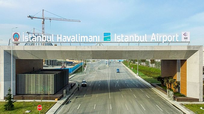istanbul airport announces 40 bin 52 passenger in November