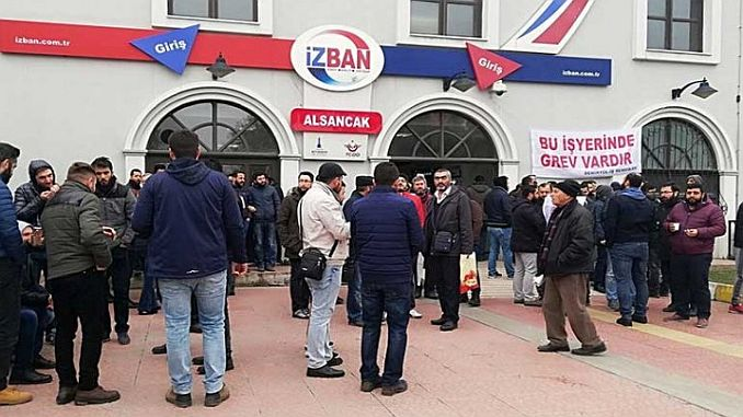 izban workers said they will end the strike with determination