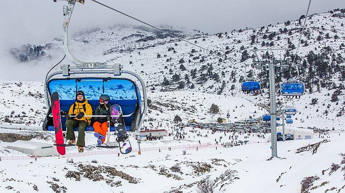 kis turizminin yeni gozdesi denizli kayak merkezi