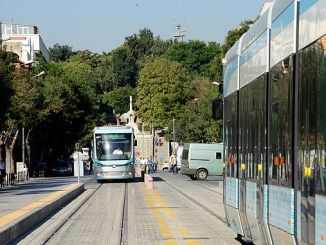 Examples Konya city in Turkey with a barrier-free transport system