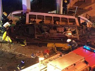 28 injured on the trolley trolley in lisbonda