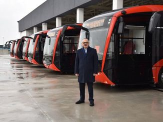 Manisalilar tomará autobuses eléctricos en los primeros meses del nuevo año.