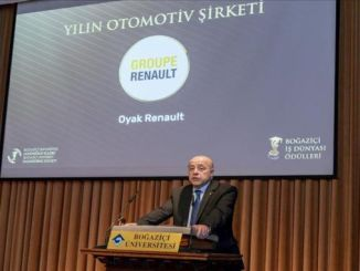 oyak renault became the automotive company of the year