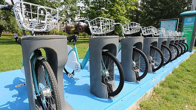 smart bicycle starts in Sakarya