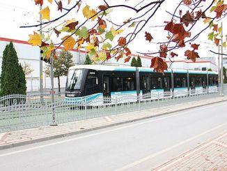 трамвайная линия метро Sekapark 6 новый автомобиль