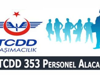 tcdd transport will make permanent staff recruitment 353