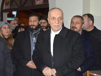 turk is general president atalayas visit to izban workers