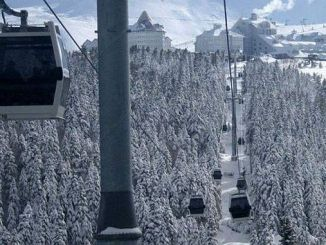 uludagda season emerged ropeway expeditions increased
