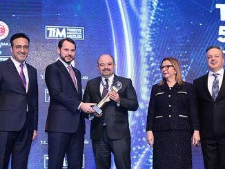 پارلیمنٹ کی عمارت کے مرکز ترکی سے ایکسپورٹرز ایوارڈ