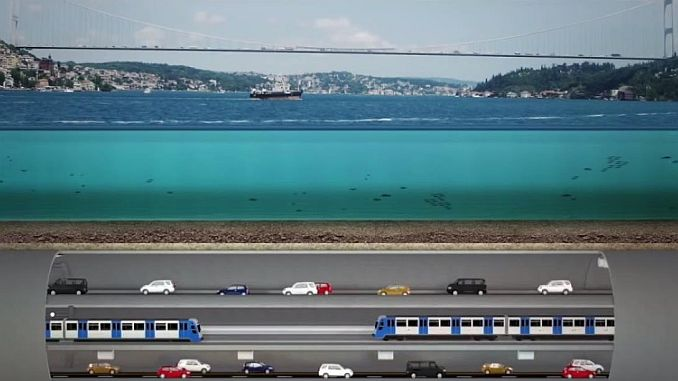 3 approved big Istanbul tunel project plans approved