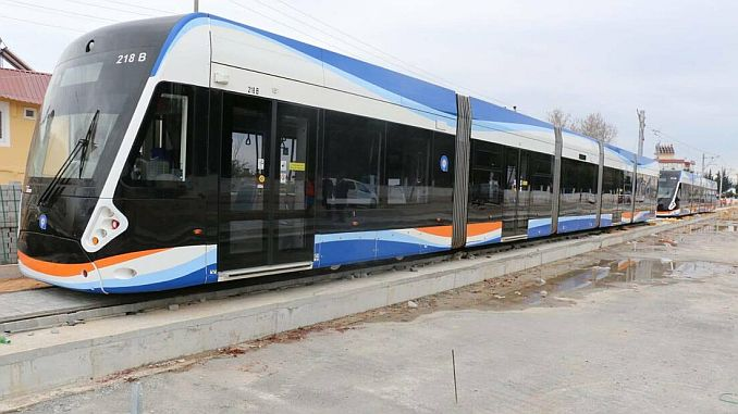 antalya will be energized to the 3 asama light rail line