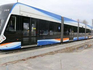 Antalya মধ্যে 3 পর্যায়ে রেল সিস্টেম লাইন প্রথম পরীক্ষা suru